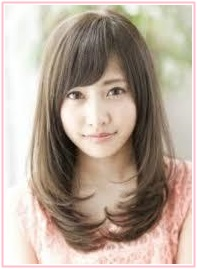 佐野ひなこ、髪型1